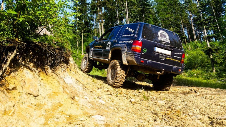 Jeep podczas OFF ROAD